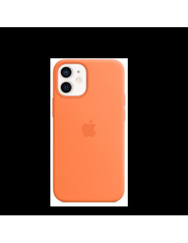 Coque en silicone avec MagSafe pour iPhone 12 mini