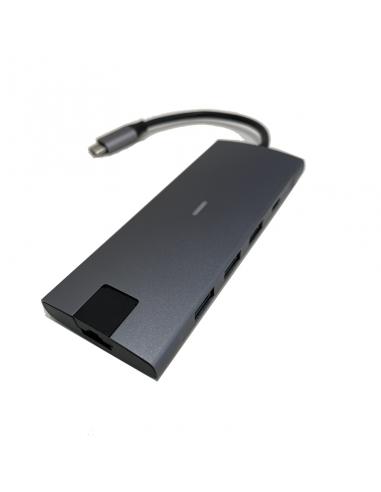 HUB USB-C 9 en 1...