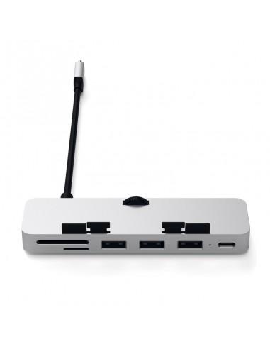 HUB USB-C vers USB-C/3xUSB/SD&microSD...