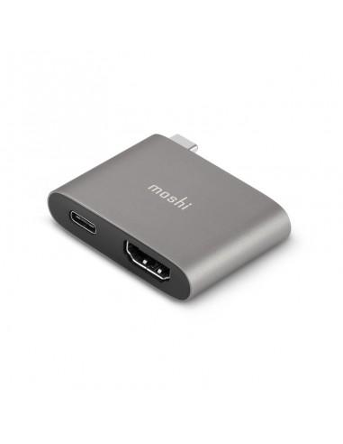 Adaptateur USB-C vers USB-C et HDMI Moshi