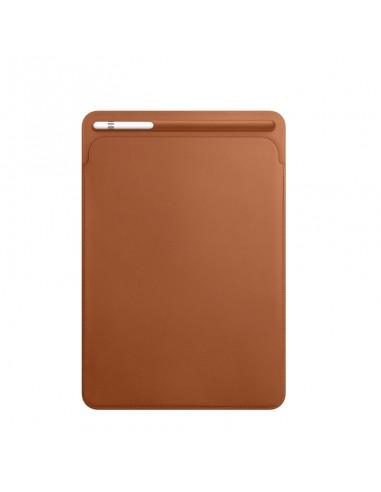 "Etui en cuir Marron pour iPad 10,5"""