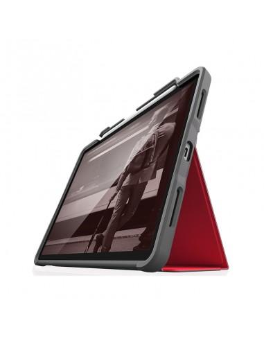"""Folio renforcé pour iPad Pro 12,9"""" (3eG) STM Rouge"""