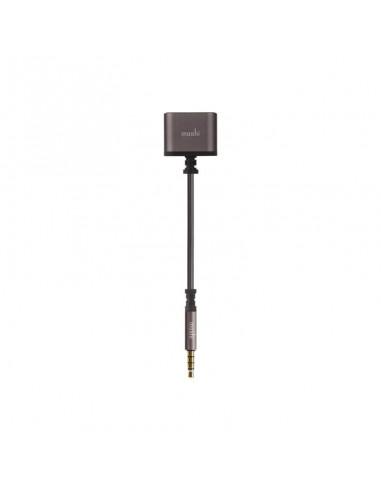 Doubleur Audio Jack 3,5mm Moshi