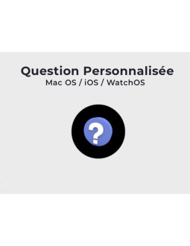 Formation: Question personnalisée