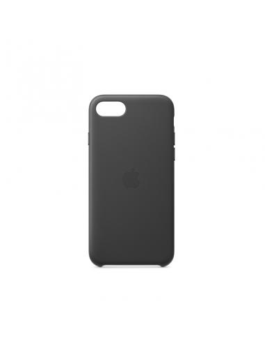 Coque pour iPhone 7/8/SE Cuir Noir Apple