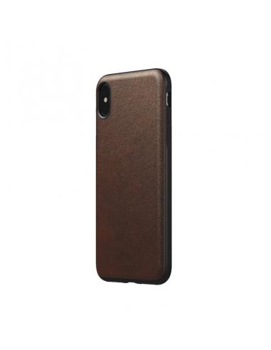 Coque en cuir pour iPhone X/Xs Rugged...